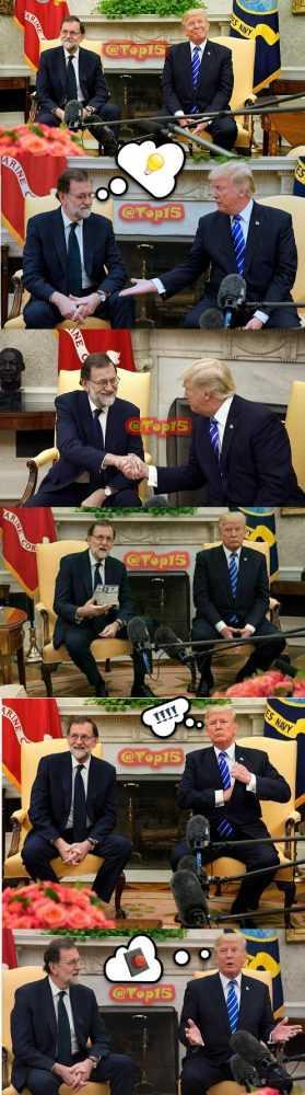 Resumen de la visita de Mariano Rajoy a Donald Trump