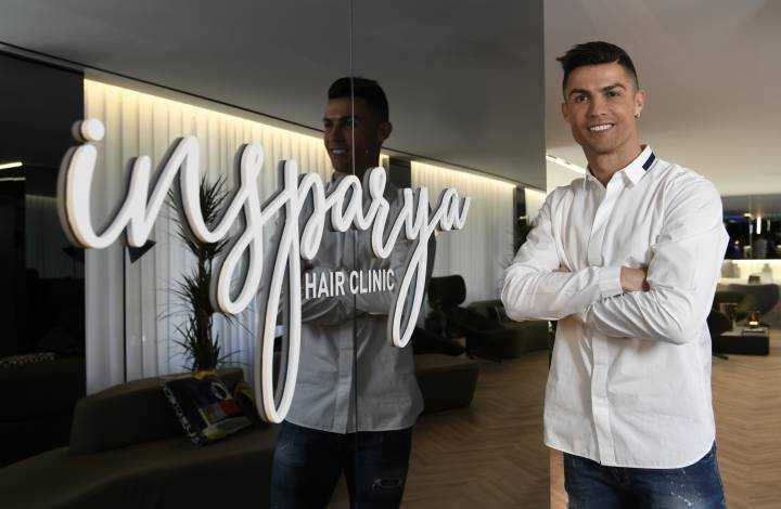 Cristiano Ronaldo abre una clínica capilar en Madrid